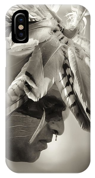 Chippewa Indian Dancer Phone Case by Dick Wood