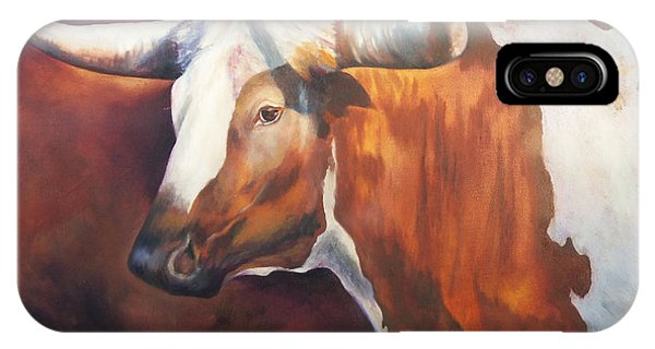 Chisholm Longhorn IPhone Case
