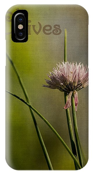 Chives Phone Case by Wayne Meyer