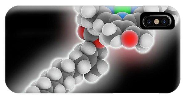 Chlorophyll B Molecule Phone Case by Laguna Design
