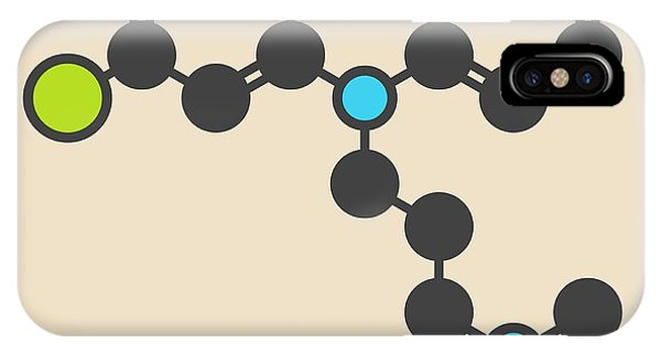 Chlorpromazine Antipsychotic Molecule IPhone Case