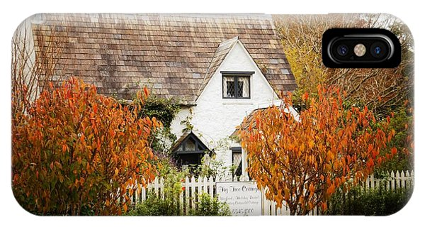 Chocolate Box Cottage IPhone Case