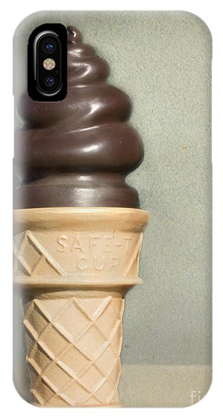 Chocolate Dipped Cone IPhone Case