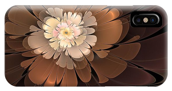 Chocolate Lilly IPhone Case