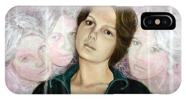 Choices Portrait Of Eva Lynn Horton IPhone Case