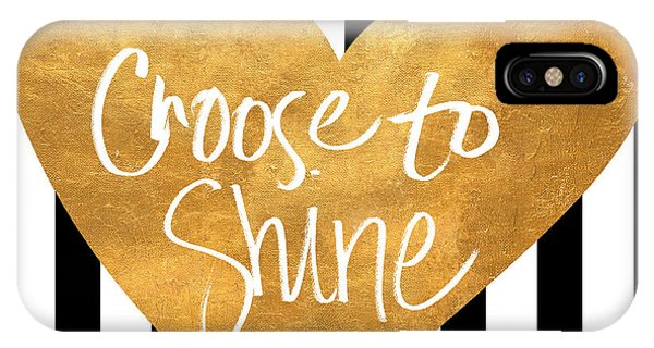Love iPhone Case - Choose To Shine by South Social Studio