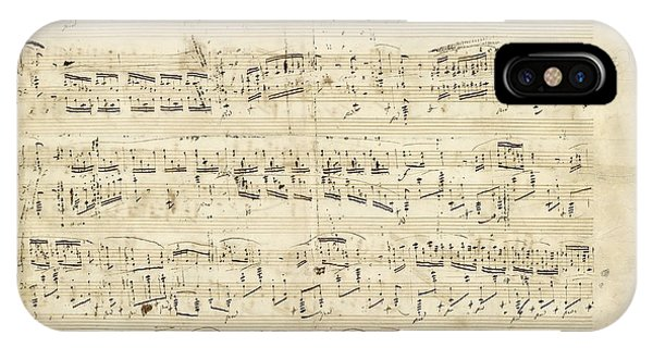 Chopin Polonaise Op 53 IPhone Case
