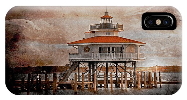 Choptank River Lighthouse IPhone Case