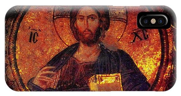 Chora Christ Pantocrator IPhone Case