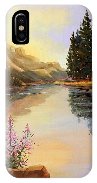 Chost Island In Morning Colors IPhone Case