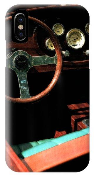 Chris Craft Interior With Gauges IPhone Case