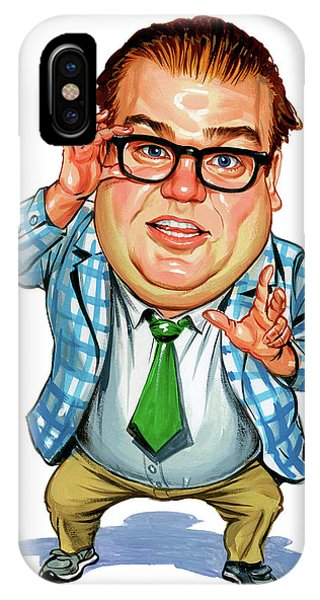 Superior iPhone Case - Chris Farley As Matt Foley by Art