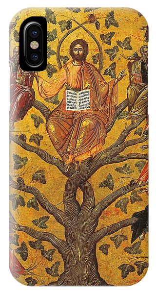 Messiah iPhone Case - Christ And The Apostles by Unknown