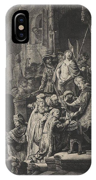 Christ Before Pilate Phone Case by Rembrandt