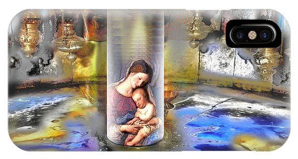 Christ Is Born 2009 IPhone Case