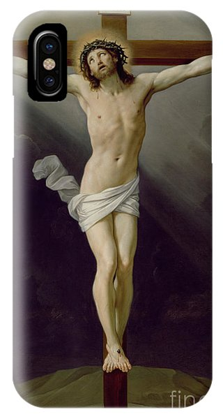 Life Of Christ iPhone Case - Christ On The Cross by Guido Reni