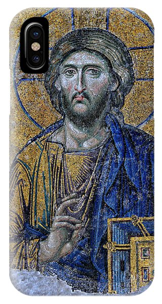 Christ Pantocrator -- Hagia Sophia IPhone Case