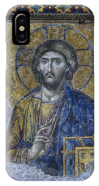 Spirituality iPhone Case - Christ Pantocrator IIi by Stephen Stookey