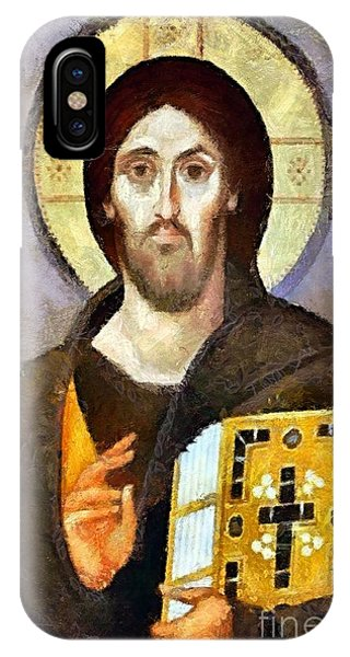 Christ Pantocrator Of Sinai IPhone Case