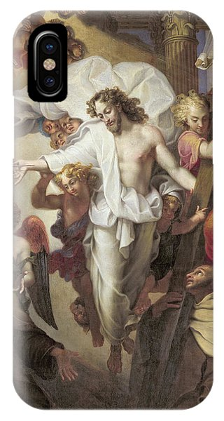 Christ Resurrected Between St Teresa Of Avila IPhone Case