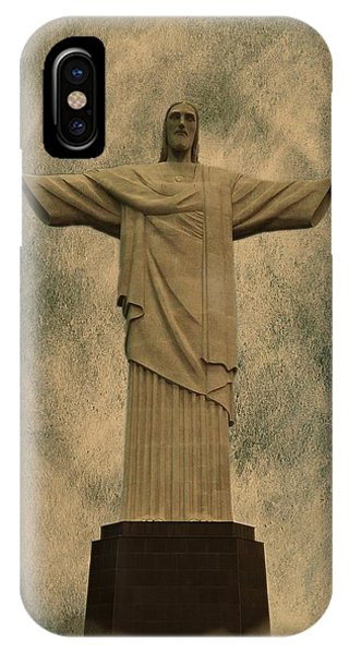 Christ The Redeemer Brazil IPhone Case