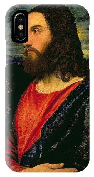 Divine Love iPhone Case - Christ The Redeemer by Titian
