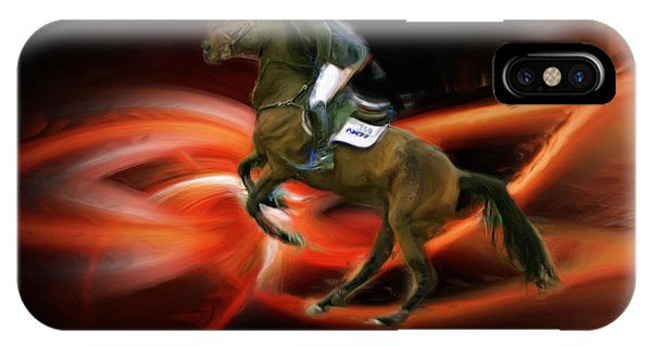 Christian Heineking On Horse Nkr Selena IPhone Case