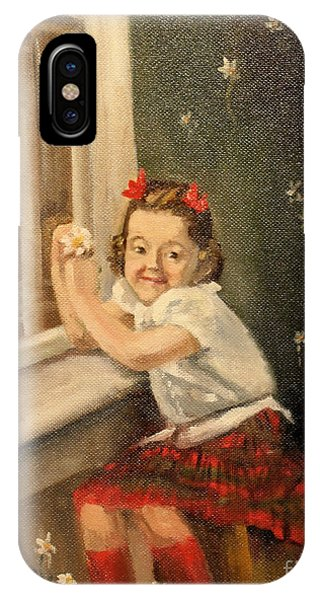 Christine By The Window - 1945 IPhone Case