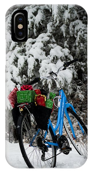 Christmas Bike IPhone Case