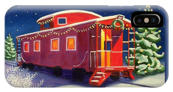 Christmas Caboose IPhone Case
