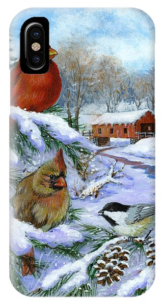 Christmas Creek IPhone Case