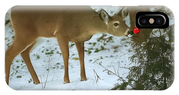 Christmas Doe IPhone Case