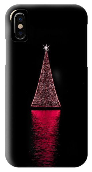 Christmas Full Moon IPhone Case