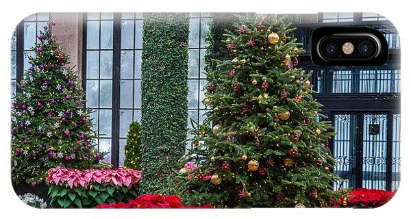 Christmas Garden #2 IPhone Case