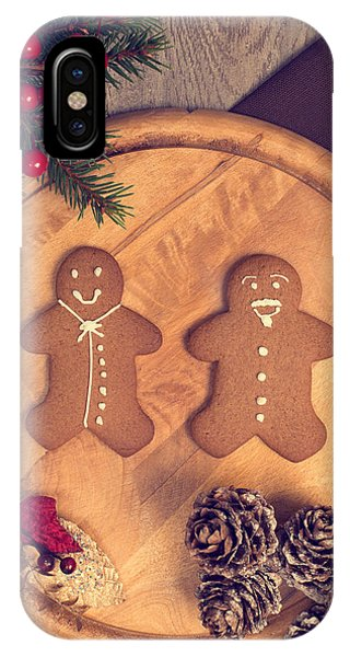 Christmas Gingerbread IPhone Case