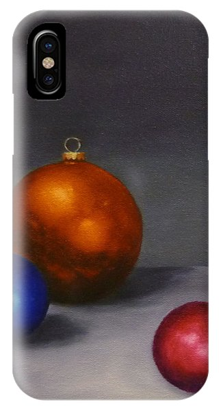 Christmas Glow Greeting Card  IPhone Case