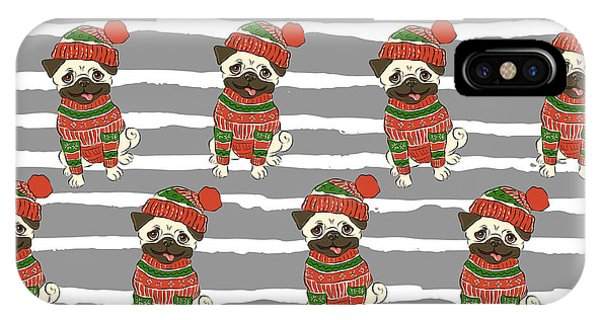 Christmas Holidays Seamless Vector Phone Case by Nikolaeva