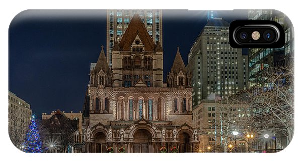 Christmas In Copley  IPhone Case