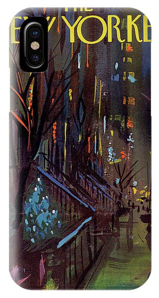 Urban iPhone Case - Christmas In New York by Arthur Getz