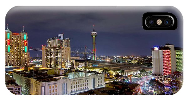 Christmas In San Antonio IPhone Case