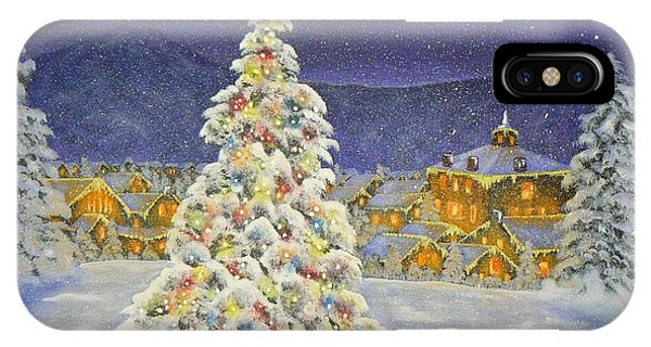 Christmas In The Valley IPhone Case