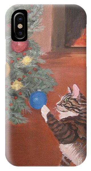 Christmas Kitty Cat IPhone Case