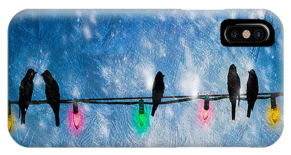 Uplift iPhone Case - Christmas Lights by Bob Orsillo