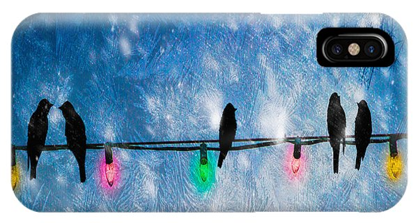 IPhone Case featuring the photograph Christmas Lights by Bob Orsillo