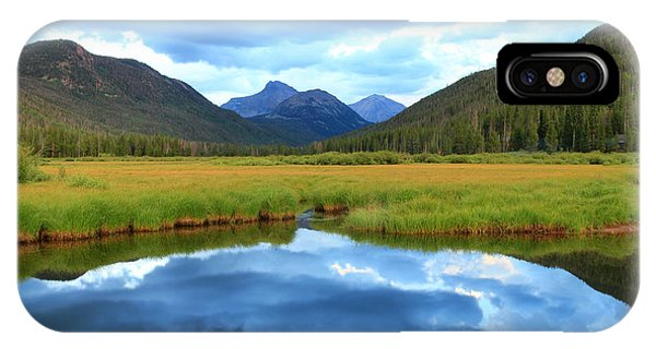 Christmas Meadows In The Uinta Mountains. IPhone Case