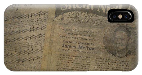 Christmas Music Memories IPhone Case