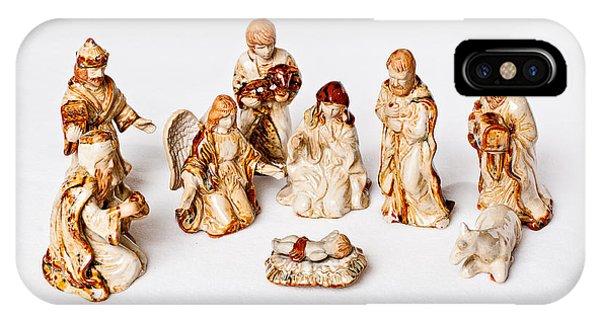 Christmas Nativity IPhone Case