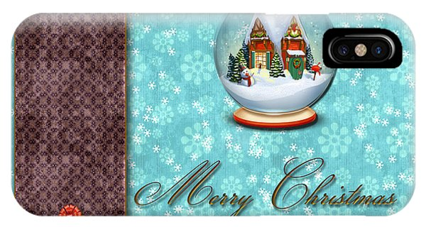 Christmas Card 13 IPhone Case