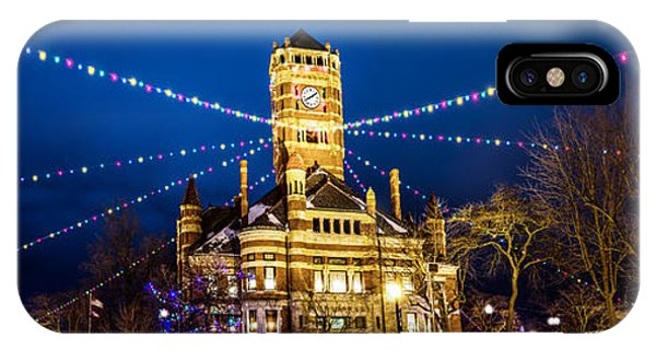 Christmas On The Square IPhone Case