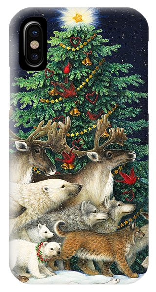 Christmas Tree iPhone Case - Christmas Parade by Lynn Bywaters